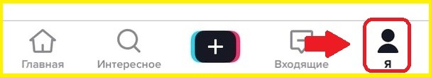 вход в приложение Тик Ток на андроиде